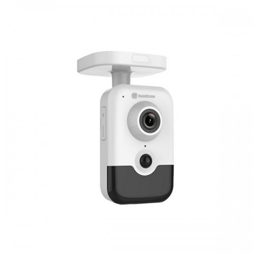 IPH2CBW4-3-W Rainvision 2.8mm 30FPS @ 4MP Indoor IR Day/Night WDR Cube IP Camera Built-in WiFi 12VDC/PoE - White