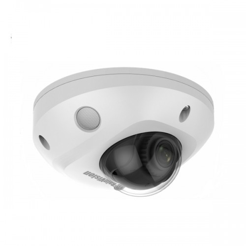IPH2LPD4-3-W Rainvision 2.8mm 30FPS @ 4MP Outdoor IR WDR Day/Night Low Profile Dome IP Security Camera 12VDC/PoE
