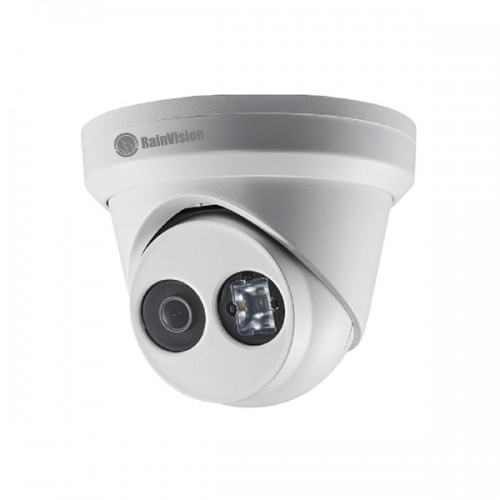 IPH2EBX4-3-W Rainvision 2.8mm 30FPS @ 4MP Indoor/Outdoor IR Day/Night WDR Eyeball IP Security Camera 12VDC/PoE - White