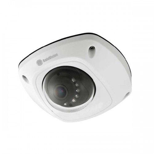 IPHLPD4-3-W Rainvision 2.8mm 20FPS @ 4MP Outdoor IR WDR Day/Night Low Profile Dome IP Security Camera 12VDC/PoE