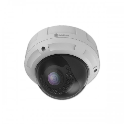 IPHVD3-2812-W Rainvision 2.8-12mm Varifocal 20FPS @ 2048 x 1536 Outdoor IR Day/Night Dome IP Security Camera 12VDC/PoE