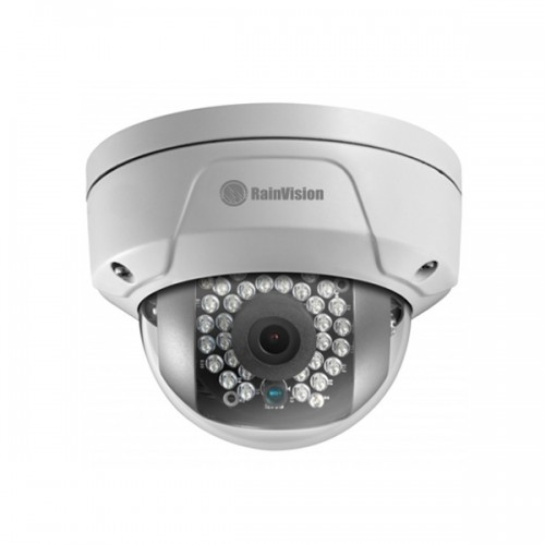 IPHVD4-3-W Rainvision 2.8mm 20FPS @ 4MP Outdoor IR Day/Night Mini Rugged Dome IP Security Camera 12VDC/PoE