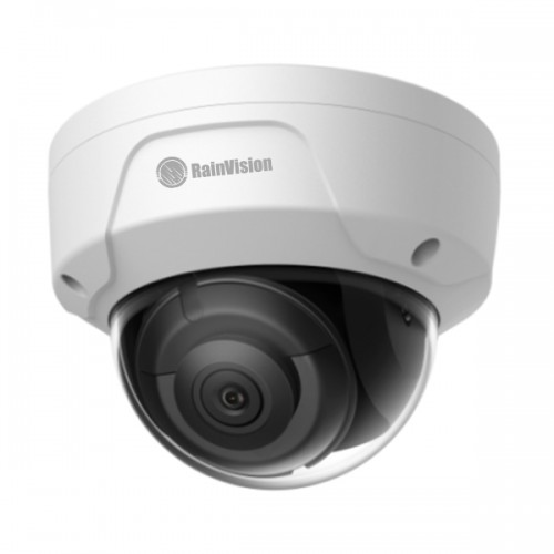 IPHVD8-3-W Rainvision 2.8mm 20FPS @ 8MP (4K) Outdoor IR Day/Night Rugged Dome IP Security Camera 12VDC/PoE - White