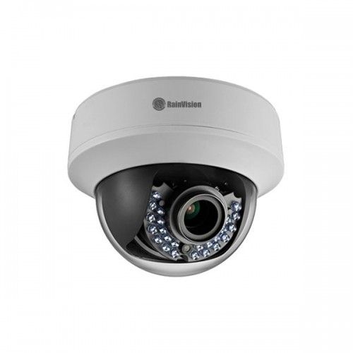 TVIPROID2-21-W Rainvision 2.8~12mm Varifocal 1080p Indoor IR Day/Night WDR Dome HD-TVI/Analog Security Camera 12VDC/24VAC